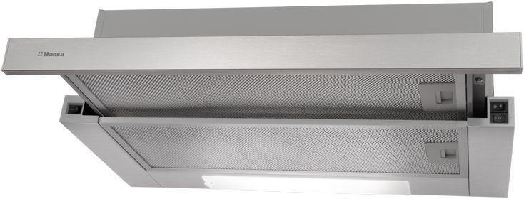 Вытяжка Hansa OTP5233IH нержавеющая сталь управление: кнопочное (1 мотор)