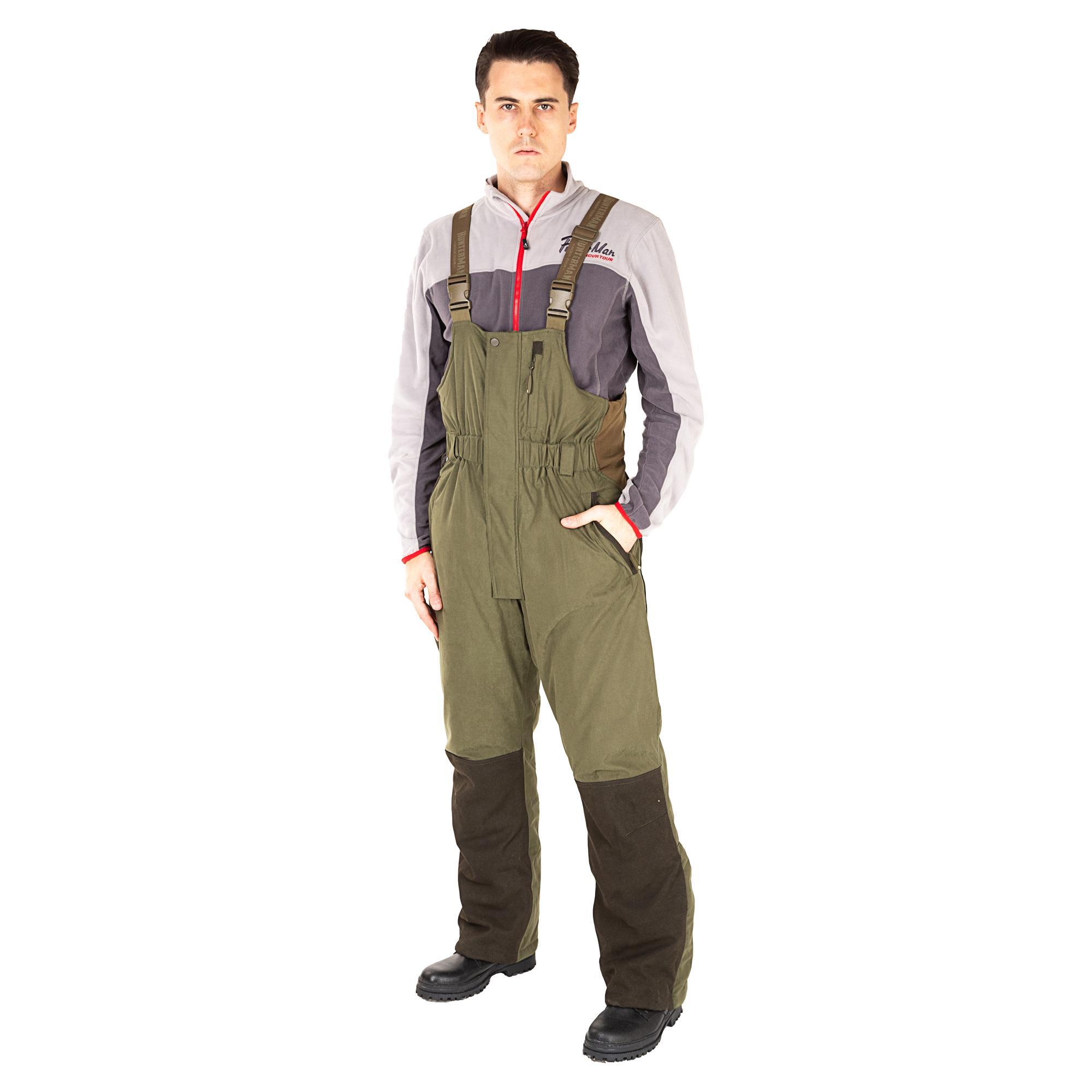 костюм для зимней рыбалки нова