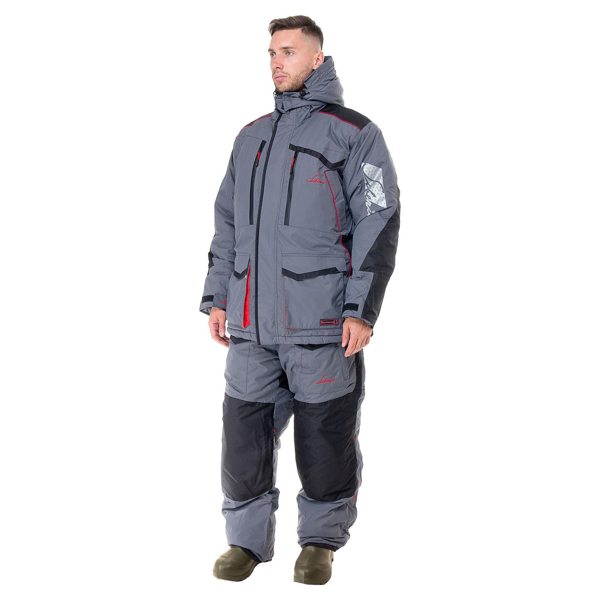 Лучший костюм для рыбалки зимой