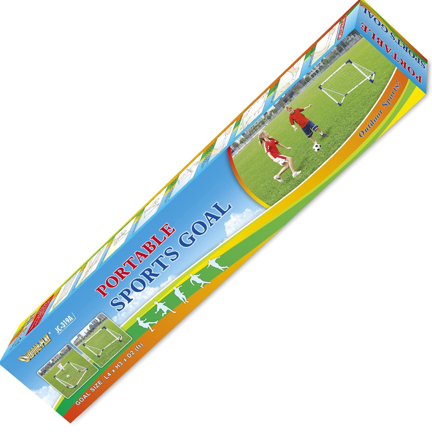 Ворота игровые DFC 4ft Portable Soccer GOAL319A, фото №2