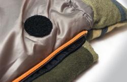 Спальный мешок ALEXIKA SIBERIA зеленый, правый 5