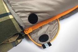 Спальный мешок ALEXIKA SIBERIA зеленый, правый 7
