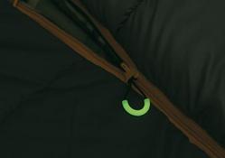 Спальный мешок ALEXIKA SIBERIA Plus зеленый, правый 1