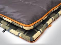 Спальный мешок ALEXIKA SIBERIA Plus зеленый, правый 9