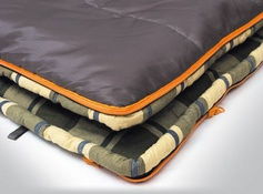 Спальный мешок ALEXIKA SIBERIA WIDE TRANSFORMER серый, левый 9