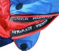Спальный мешок ALEXIKA TIBET синий, правый 10