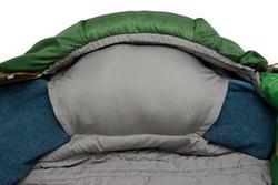 Спальный мешок ALEXIKA TIBET синий, правый 11