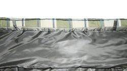 Спальный мешок ALEXIKA SUMMER WIDE PLUS серый, левый 3