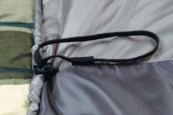 Спальный мешок ALEXIKA SUMMER WIDE PLUS серый, левый 4