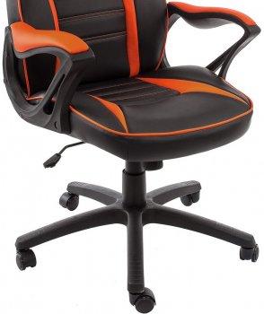 Компьютерное кресло Woodville Monza черное / оранжевое 3