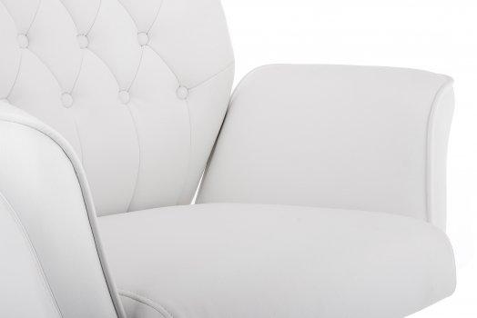 Компьютерное кресло Woodville Trivia белое 2