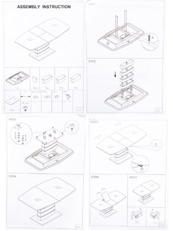 Стол Woodville Arika 140 белый инструкция