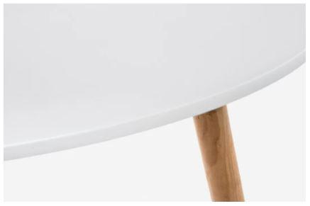 Журнальный столик Woodville Hofer белый 2